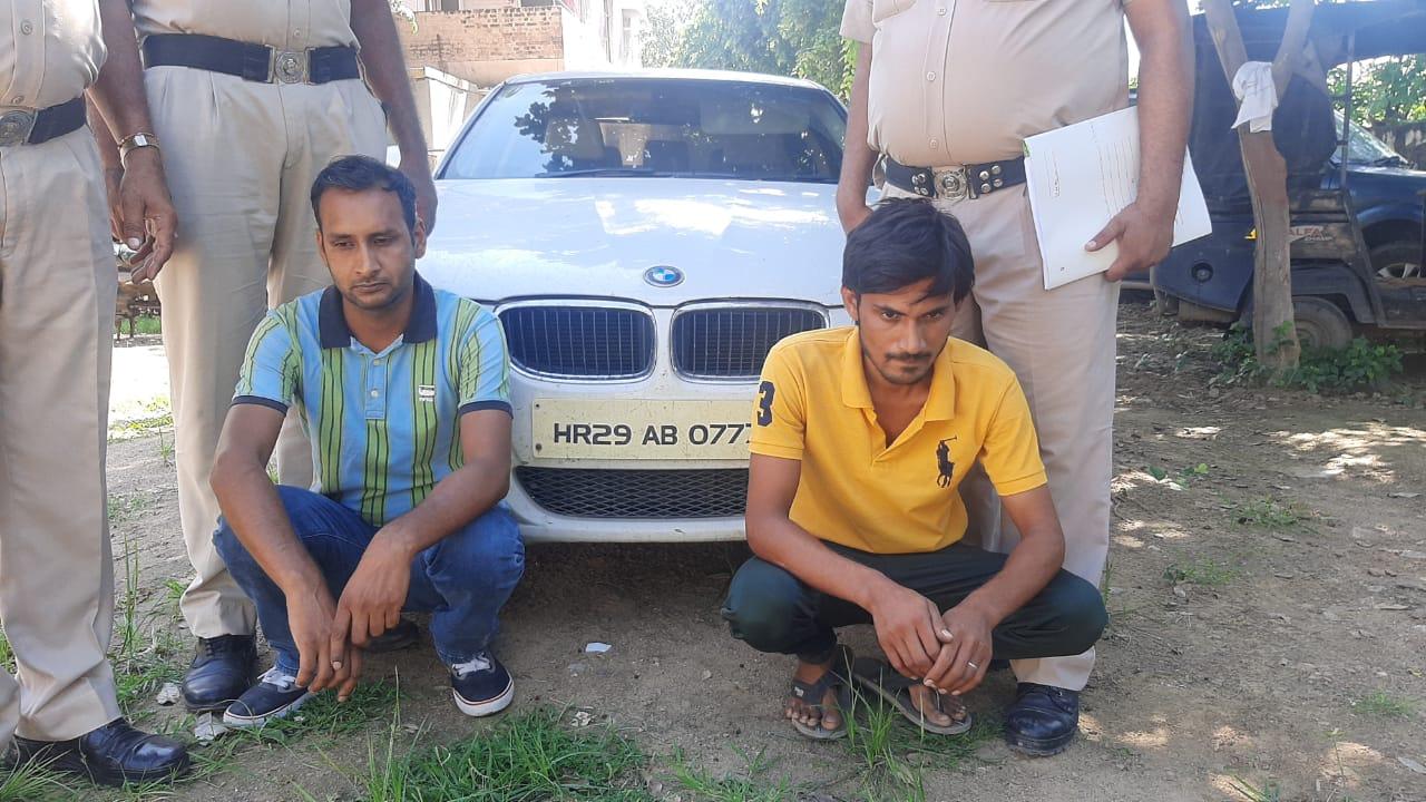 अल्ट्रासाउंड सेंटर पर पर्ची कटवाने के बाद दोस्त को थमा दी कार की चाबी; पुलिस को फोन करके बोला- चुरा ले गए बदमाश|रेवाड़ी,Rewari - Dainik Bhaskar