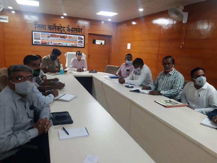 जिला कलेक्टर समेत सभी जिलाधिकारियों को दिए निर्देश, बोले-रीट को सर्वोच्च प्राथमिकता दें सभी, पुख्ता प्रबन्ध कराएं|जैसलमेर,Jaisalmer - Dainik Bhaskar