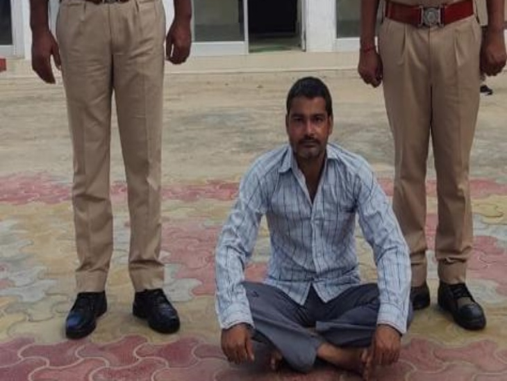 शराब के नशे में पति ने पत्नी पर किए थे चाकू से वार, पुलिस ने 24 घंटे में आरोपी पति को पकड़ा, पत्नी का गंभीर हालत में इलाज जारी|चौमू,Chomu - Dainik Bhaskar