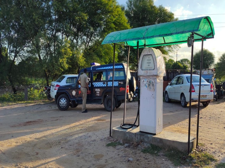 बायोडीजल के नाम से संचालित पेट्रोल पंप को किया सीज। - Dainik Bhaskar