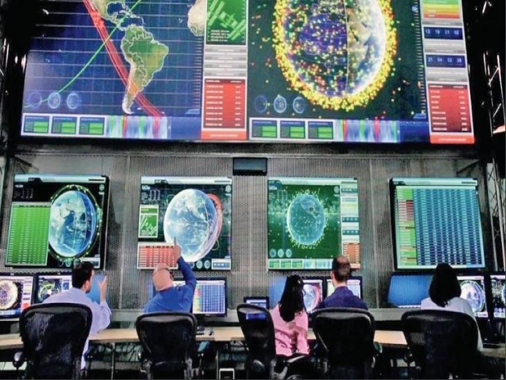 अंतरिक्ष में नष्ट उपग्रहों के 9 लाख से ज्यादा टुकड़े मंडरा रहे हैं। - Dainik Bhaskar