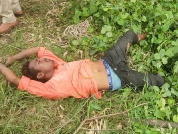 मृतक युवक - Dainik Bhaskar