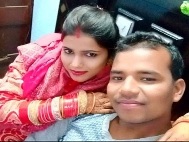 मृतक पति-पत्नी का फाइल फोटो - Dainik Bhaskar