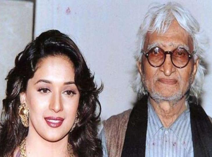'हम आपके हैं कौन' देखने के बाद माधुरी दीक्षित के दीवाने हो गए थे एम.एफ हुसैन, उन्हें लेकर 'गजगामिनी' बनाई जो कि सुपरफ्लॉप रही थी बॉलीवुड,Bollywood - Dainik Bhaskar