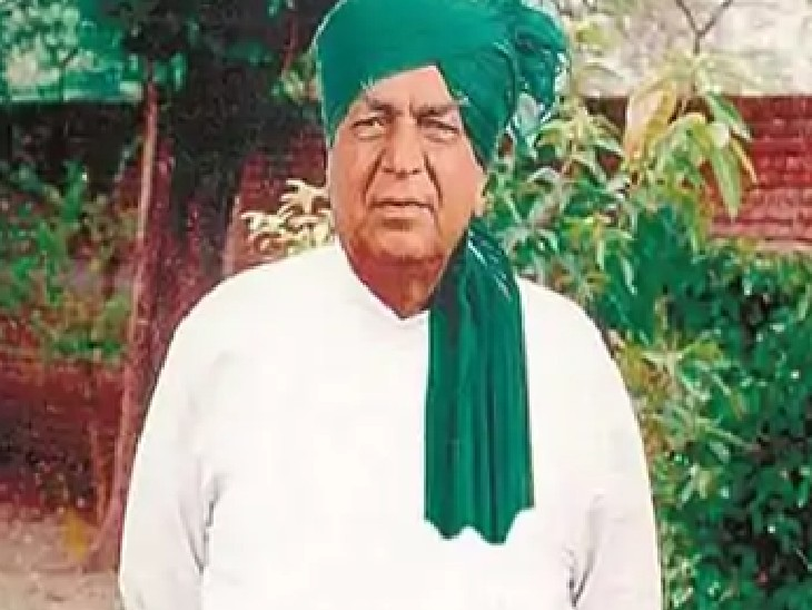 पूर्व उप प्रधानमंत्री स्वर्गीय ताऊ देवीलाल। - Dainik Bhaskar