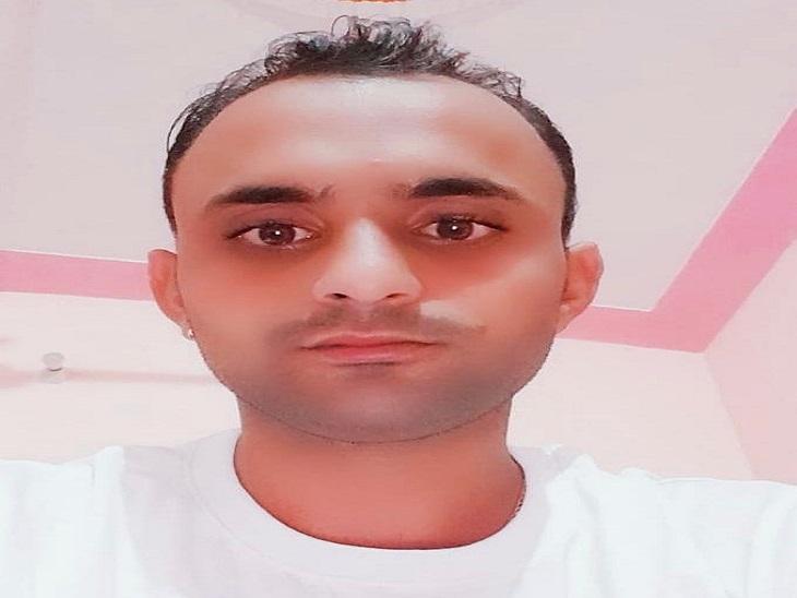 लूट पीड़ित आढ़ती रवि। - Dainik Bhaskar