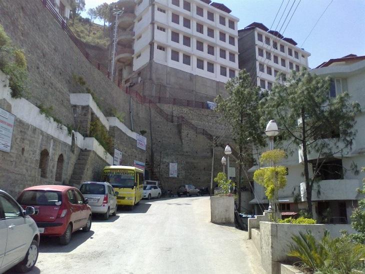हिमाचल प्रदेश में संचालित प्राइवेट यूनिवर्सिटी का फाइल फोटो।