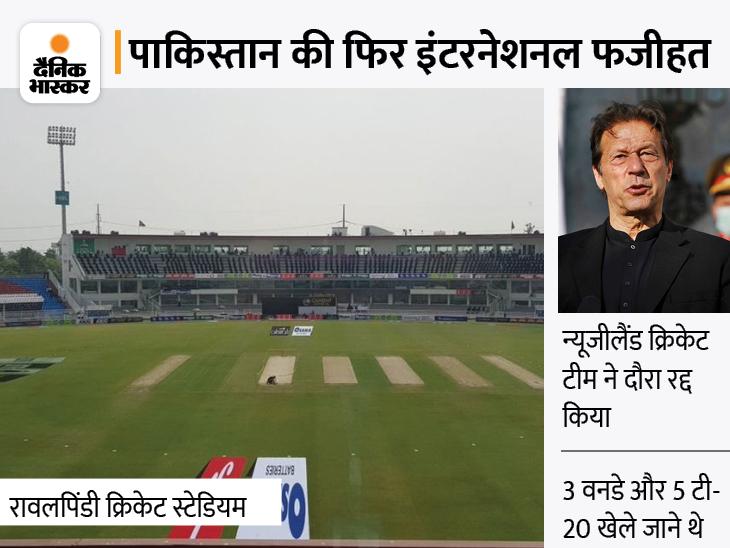 पहला वनडे शुरू होने से 30 मिनट पहले लिया फैसला, पाक PM इमरान खान की कोशिश भी फेल हुई क्रिकेट,Cricket - Dainik Bhaskar