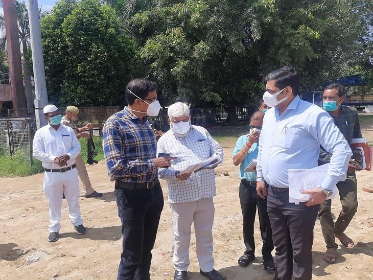मंडलायुक्त लोकेश एम. डा.भीमराव - Dainik Bhaskar