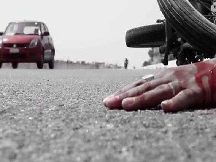 काकोरी में दो बाइक सवार युवकों की टेंपो की टक्कर से मौत, तीसरे की खराब ट्रक में टकराने से गई जान|लखनऊ,Lucknow - Dainik Bhaskar