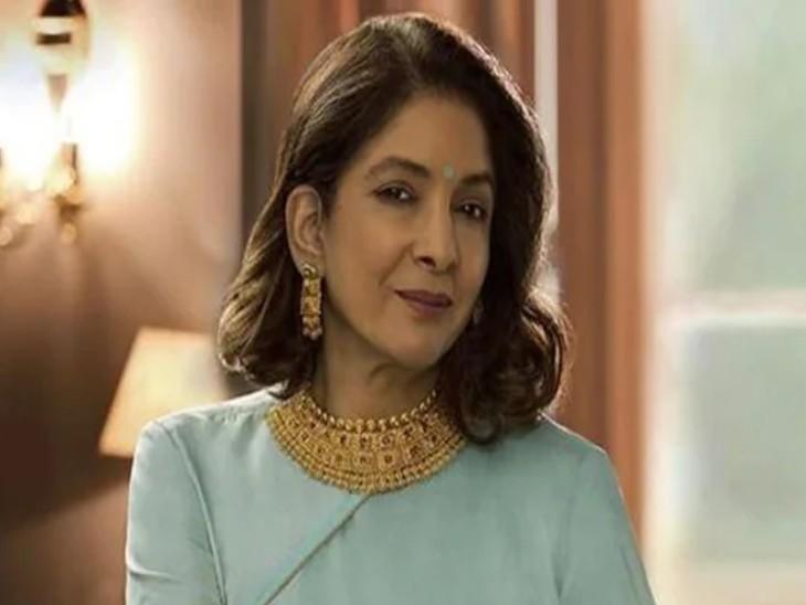 बेटी मसाबा गुप्ता ने शेयर किया मां नीना गुप्ता का विंटेज वीडियो, अमरीश पुरी से अवॉर्ड लेने के बाद दी 'सेसी' स्पीच बॉलीवुड,Bollywood - Dainik Bhaskar