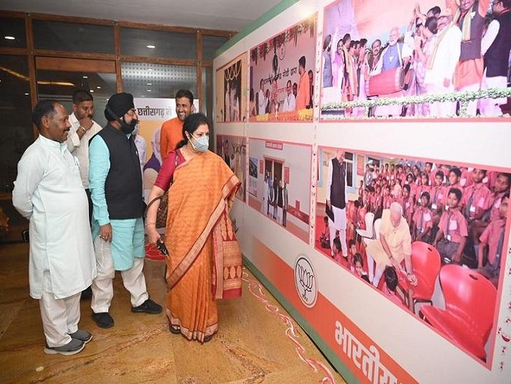 डी पुरंदेश्वरी ने फोटो भी लगाया।