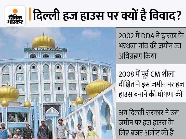 360 गांवों की खाप पंचायत ने कहा- हिंदू बहुल क्षेत्र में हज हाउस स्वीकार नहीं , वक्फ बोर्ड बोला- हज हाउस के साथ सरकार कांवड़ हाउस भी बनाए|DB ओरिजिनल,DB Original - Dainik Bhaskar