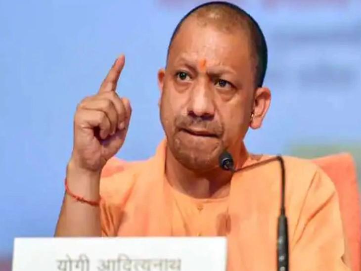 CM योगी बोले- देवताओं पर टिप्पणी करना एक्सीडेंटल हिन्दू की प्रवृति, हमारे लिए दल से बड़ा देश|लखनऊ,Lucknow - Dainik Bhaskar