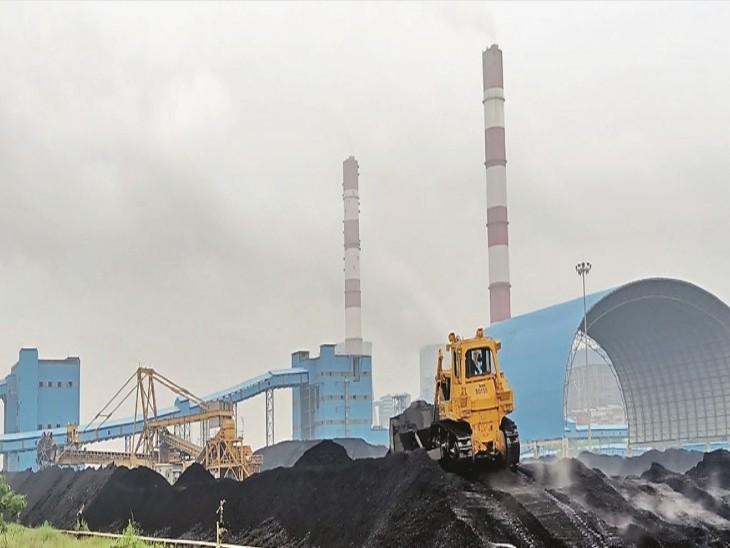 सिंगाजी परियोजना में घटिया क्वालिटी का कोयला आ रहा है। - Dainik Bhaskar