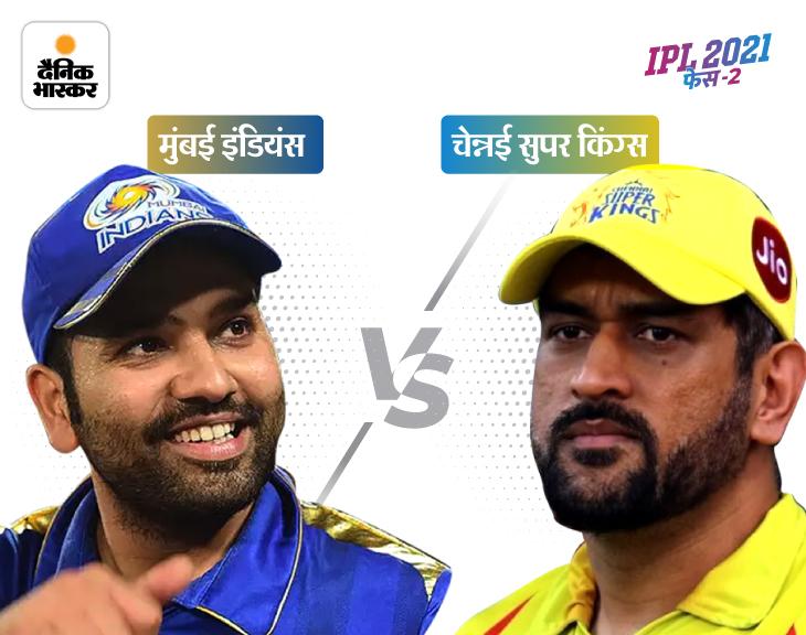 IPL-2021 का सफर 140 दिन के ब्रेक के बाद आज फिर शुरू होगा, धोनी की टीम के पास नंबर-1 बनने का मौका|IPL 2021,IPL 2021 - Dainik Bhaskar