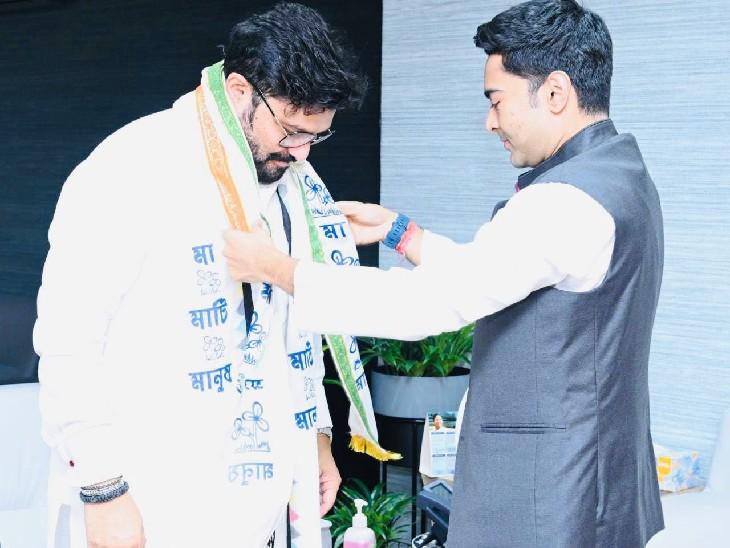 बाबुल सुप्रियो तृणमूल कांग्रेस में शामिल हुए, 48 दिन पहले BJP से इस्तीफा दिया था|देश,National - Dainik Bhaskar