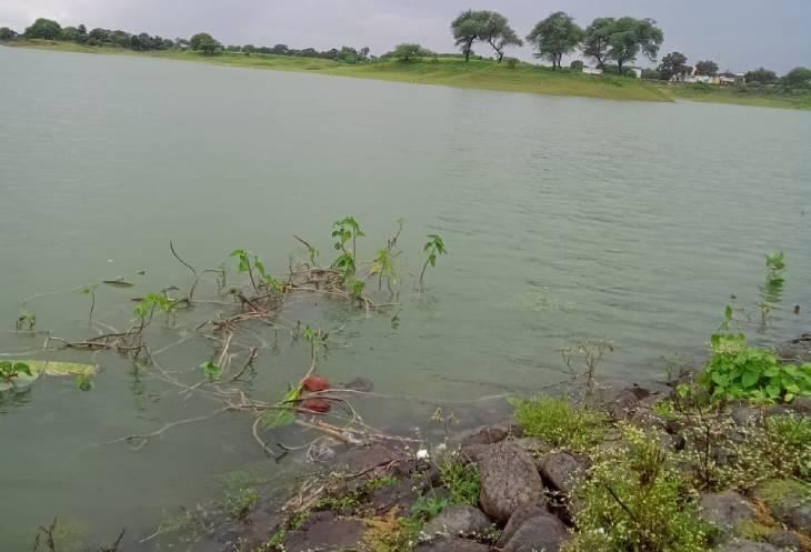 सुबह 9 बजे तक 1075 एमसीएफटी पानी आया, शाम तक पचास फीसदी भर जाएगा बांध उज्जैन,Ujjain - Dainik Bhaskar