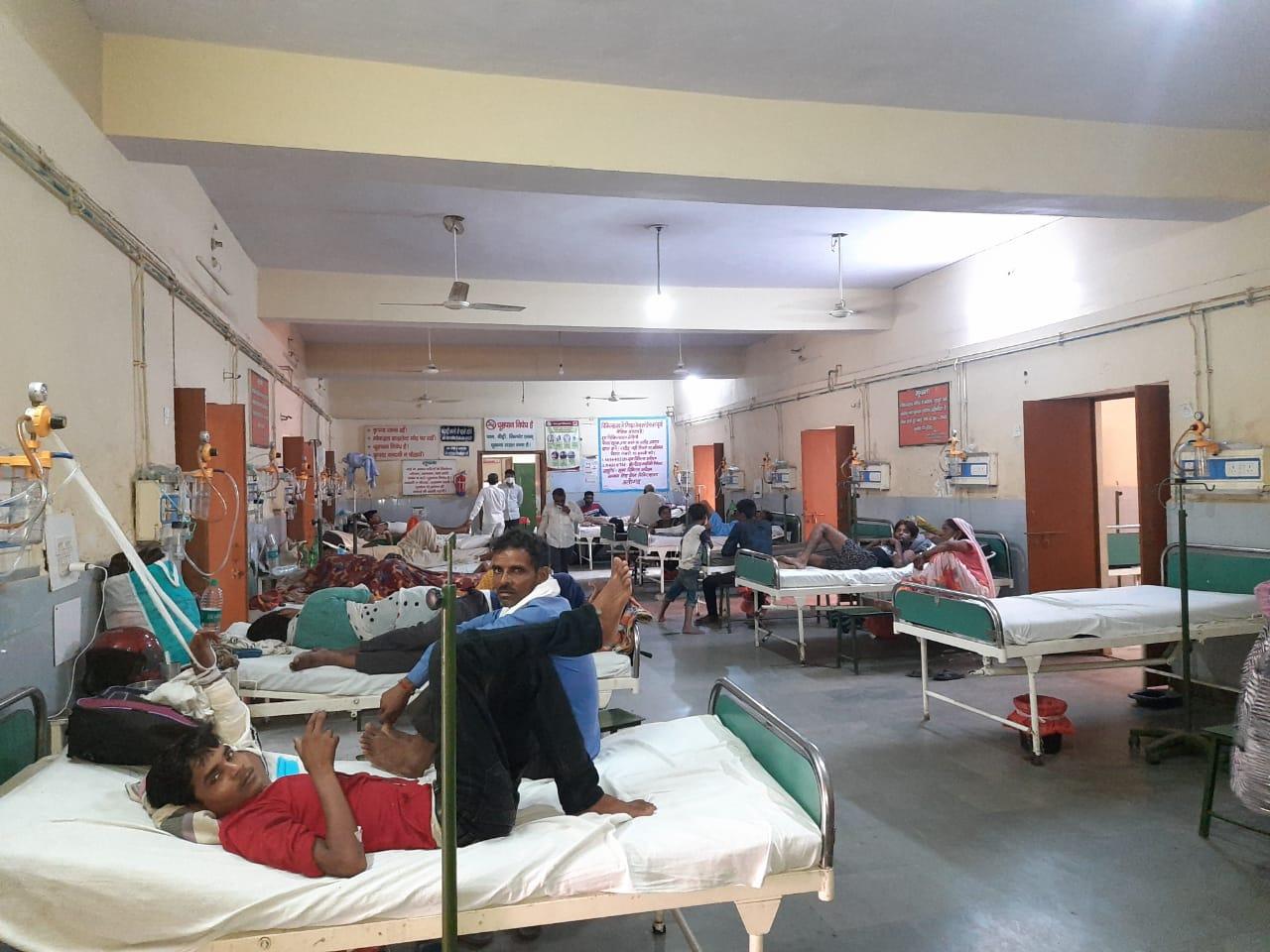 केवल 15 दिन में डेंगू के मरीजों की संख्या हुई 60, सभी अस्पताल में भर्ती अलीगढ़,Aligarh - Dainik Bhaskar