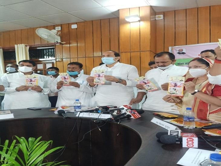 अन्य राज्यों के लिए रोल मॉडल है योगी की कानून-व्यवस्था, जिले के विकास के लिए 2818 परियोजनाएं स्वीकृत, अब्बा जान के सवाल पर से काटी कन्नी|आजमगढ़,Azamgarh - Dainik Bhaskar