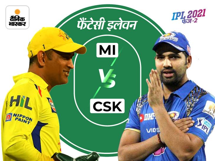 दोनों टीमों के टॉप ऑर्डर बल्लेबाज हो सकते हैं गेमचेंजर, मुंबई के डेथ ओवर्स बॉलर्स दिला सकते हैं ज्यादा पॉइंट्स|IPL 2021,IPL 2021 - Dainik Bhaskar