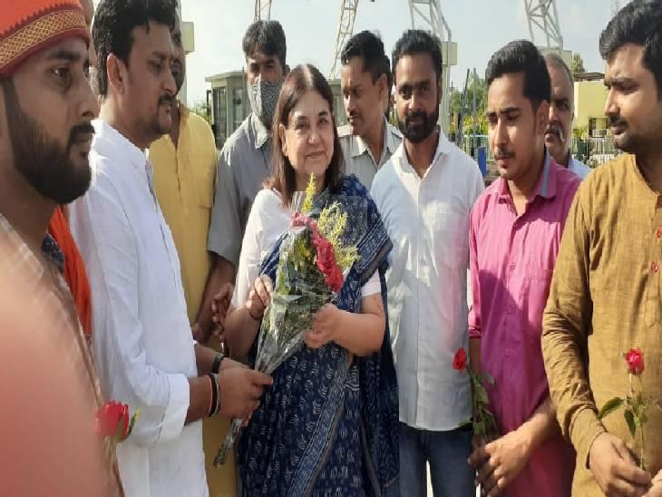 सांसद ने गिनाई अपने काम की उपलब्धियां, कहा- मेंहदी और बांस की खेती से जिले में मिलेगा रोजगार; लगाए गए ऑक्सीजन के दो बड़े प्लांट|सुलतानपुर,Sultanpur - Dainik Bhaskar