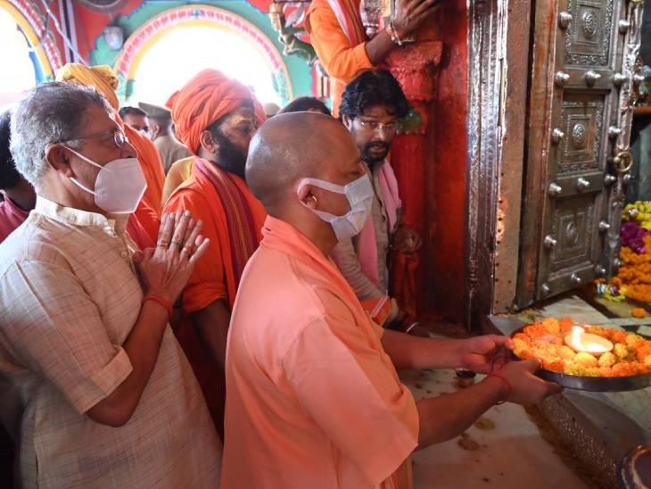 सरकार के साढ़े चार साल पूरे होने पर हनुमानगढ़ी और रामलला के किए दर्शन, OBC मोर्चा की कार्यसमिति की बैठक में भी होंगे शामिल अयोध्या,Ayodhya - Dainik Bhaskar