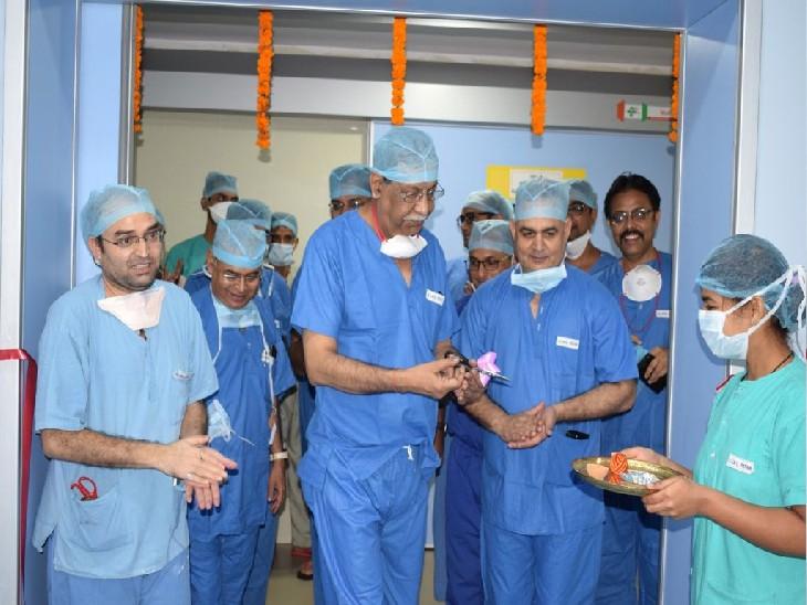 AIIMS में चंद मिनटों में होगा किडनी की पथरी का ऑपरेशन, शरीर से नहीं बहेगा अधिक खून; यूरोलॉजी विभाग में नई लेजर मशीन इंस्टॉल|बिहार,Bihar - Dainik Bhaskar