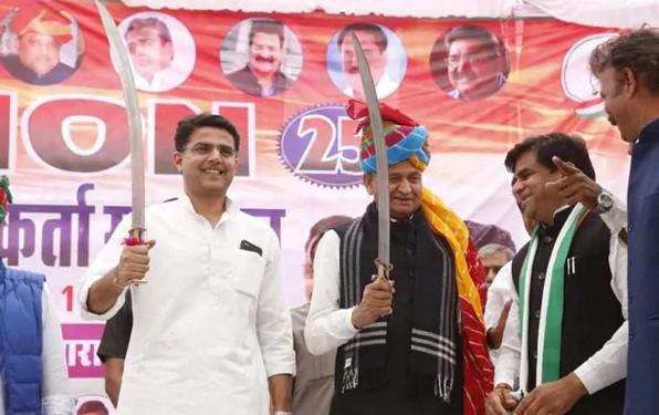 मंत्रिमंडल फेरबदल, जिलाध्यक्षों की नियुक्ति और पायलट खेमे की मांगों पर काम होगा, चुनावी साल से पहले बड़े बदलावों का रोडमैप तैयार जयपुर,Jaipur - Dainik Bhaskar