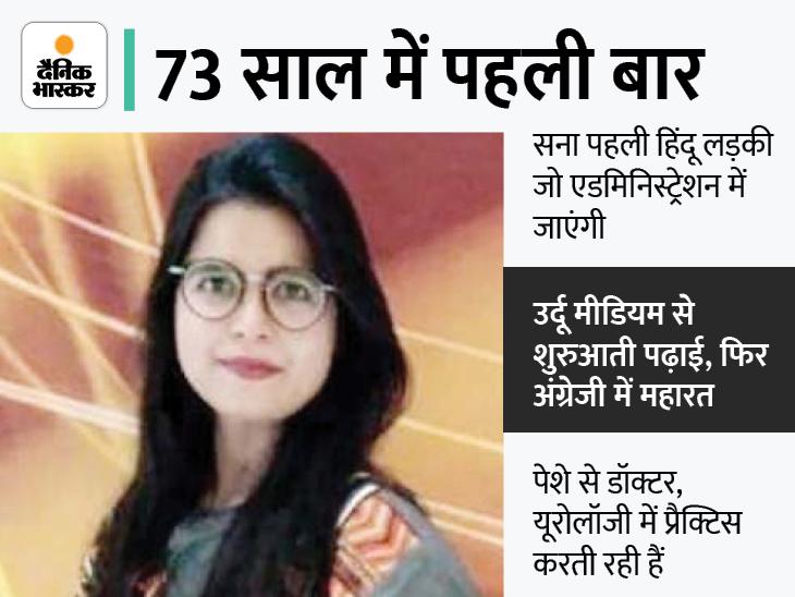 पाकिस्तान में पहली बार हिंदू लड़की प्रशासनिक सेवा के लिए चुनी गई, फर्स्ट अटैम्प्ट में कामयाबी|विदेश,International - Dainik Bhaskar