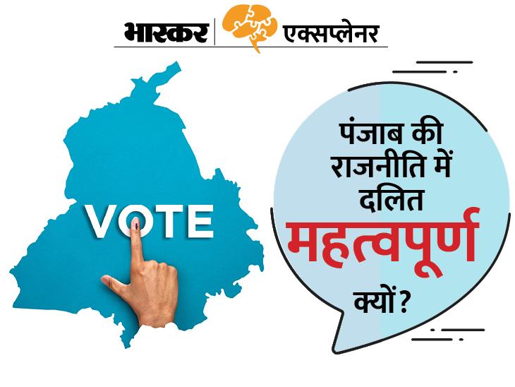 पंजाब में दलित सिख चन्नी बने मुख्यमंत्री; चुनाव से 6 महीने पहले कांग्रेस ने क्यों दी दलित को कुर्सी? क्या है इसके पीछे की राजनीति?|एक्सप्लेनर,Explainer - Dainik Bhaskar
