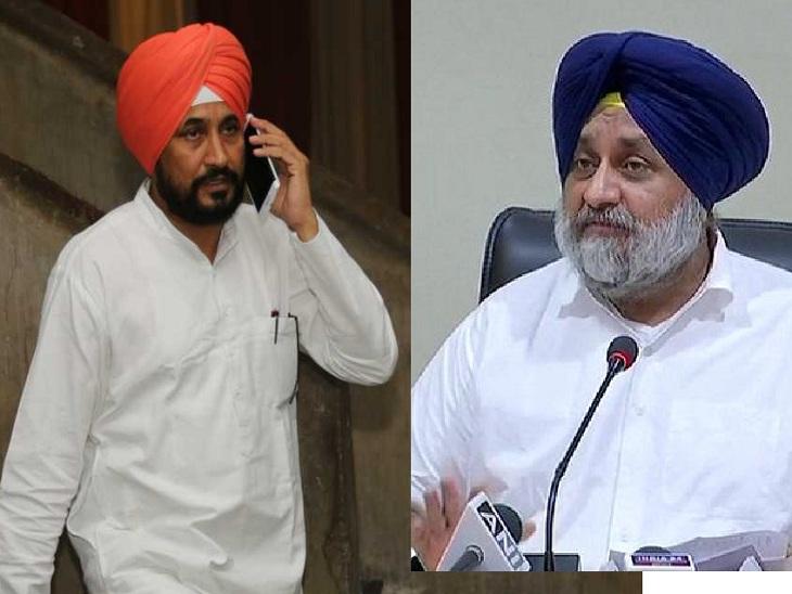 चन्नी को मुख्यमंत्री बनने की बधाई देते हुए सुखबीर ने उठाया बेअदबी का मुद्दा; पूछा-तख्त केसगढ़ साहिब में 5 दिन पहले हुई बेअदबी को लेकर कार्रवाई क्यों नहीं लुधियाना,Ludhiana - Dainik Bhaskar