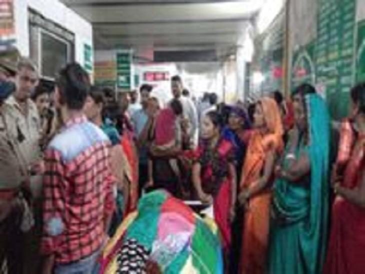 परिजन बोले - डाॅक्टर ने मांगे थे 5 हमने दिए 4 हजार रुपए, इसके बाद भी बरती इलाज में लापरवाही|आजमगढ़,Azamgarh - Dainik Bhaskar