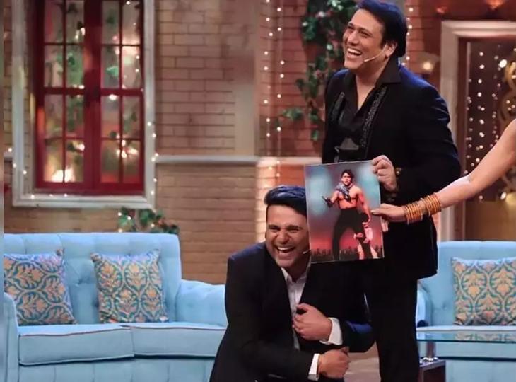 अनबन के बीच कृष्णा अभिषेक ने किया गोविंदा को मिस, उदित नारायण को देखकर बोले, 'आपको देखकर मामा की याद आ गई, बहुत अच्छा लगा'|बॉलीवुड,Bollywood - Dainik Bhaskar