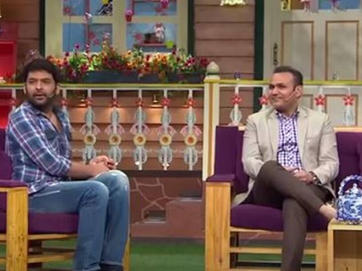 लॉकडाउन में घर में काम करने को लेकर सवाल पूछने पर पूर्व क्रिकेटर वीरेंद्र सहवाग बोले,- 'नजफगढ़ का नवाब हूं' टीवी,TV - Dainik Bhaskar