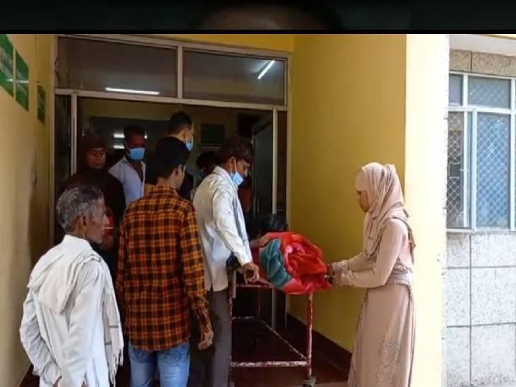 कन्नौज में बच्चे को बुखार आने पर इलाज के लिए ले गए थे परिजन, इंजेक्शन लगाने से बिगड़ी हालत; मौत के बाद घरवालों ने किया हंगामा|कन्नौज,Kannauj - Dainik Bhaskar