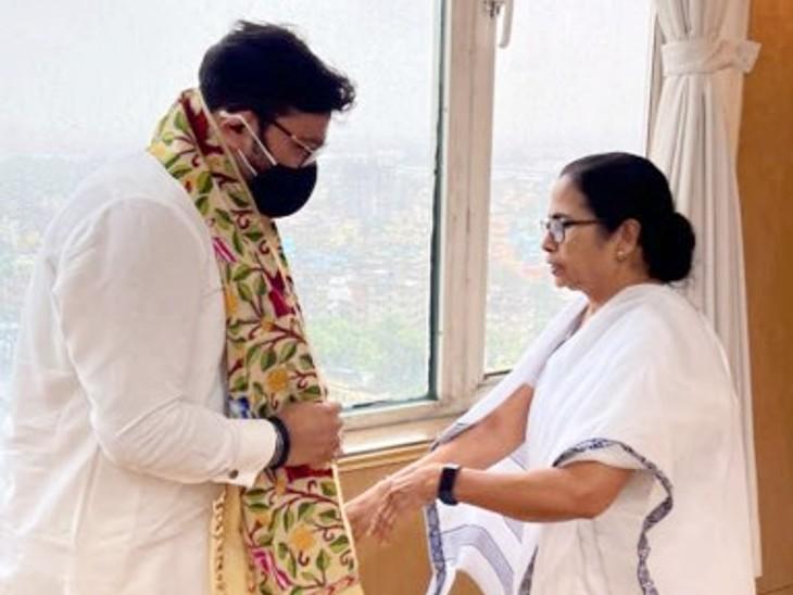 BJP छोड़कर TMC में आए नेता ने कहा- बंगाल CM ने मुझे दिल से काम करने और गाने को कहा|देश,National - Dainik Bhaskar