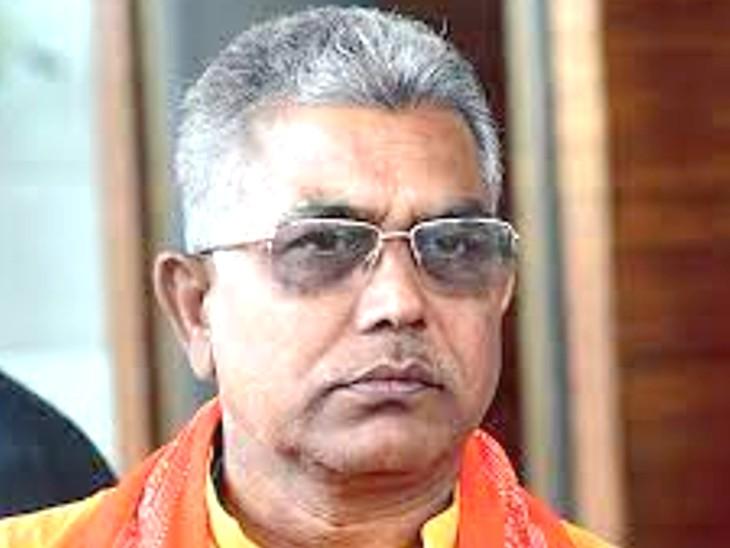 बंगाल भाजपा अध्यक्ष पद से हटाए गए दिलीप घोष, बालूरघाट के सांसद सुकांत मजूमदार को मिली कमान|देश,National - Dainik Bhaskar