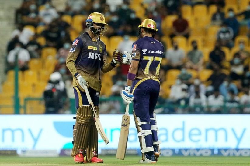 93 रनों के टारगेट का पीछा करते हुए KKR की तेज शुरुआत, बेंगलुरु का कोलकाता के खिलाफ तीसरा सबसे खराब प्रदर्शन IPL 2021,IPL 2021 - Dainik Bhaskar