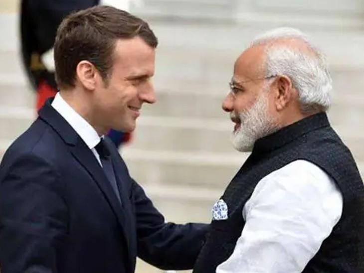 PM मोदी ने फ्रांस के राष्ट्रपति मैक्रों से फोन पर बात की, AUKUS और अफगानिस्तान समेत कई मुद्दों पर चर्चा हुई|देश,National - Dainik Bhaskar