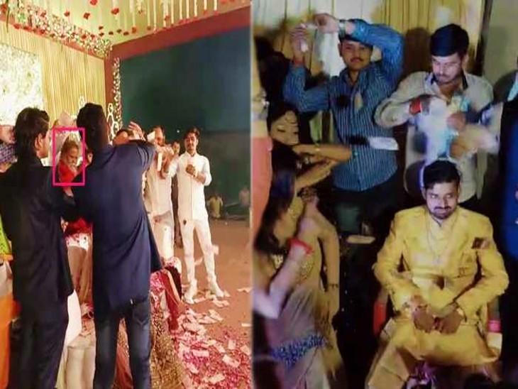 शिष्य आनंद गिरि ने गुरु महंत नरेंद्र गिरि पर आरोप लगाया था कि महंत ने लेटे हुए हनुमान मंदिर के रुपयों से रिसॉर्ट में मंदिर से जुड़े व्यक्ति की शादी कराई थी। यहां बार-बालाओं के डांस का एक वीडियो भी वायरल हुआ था।