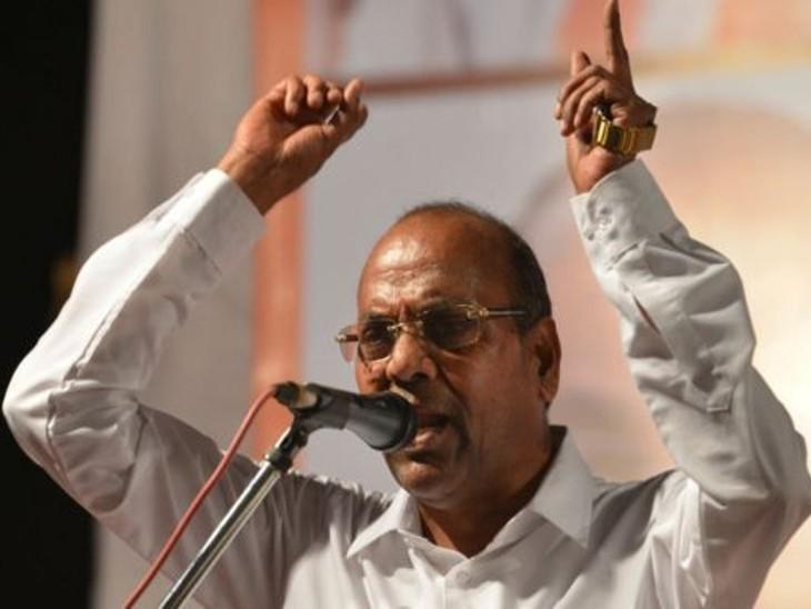 अनंत गीते रायगढ़ में एक कार्यक्रम में शिवसेना कार्यकर्ताओं को संबोधित कर रहे थे।इसी दौरान उन्होंने गठबंधन पर अपनी राय रखी। - Dainik Bhaskar