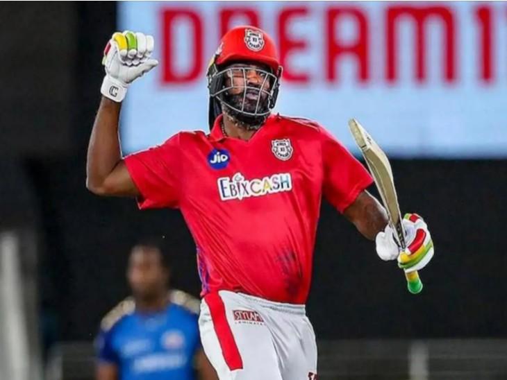 पंजाब किंग्स इलेवन से खेलने वाले वेस्टइंडीज के क्रिस गेल के नाम IPLमें एक पारी में सबसे ज्यादा रन बनाने का रिकॉर्ड|IPL 2021,IPL 2021 - Dainik Bhaskar