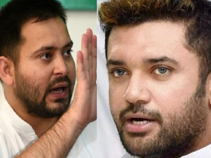 अब तेजस्वी के बेरोजगारी के मुद्दे को चिराग अपना बना रहे;दोनों मिले तो बिहार NDA का समीकरण बिगाड़ देंगे बिहार,Bihar - Dainik Bhaskar