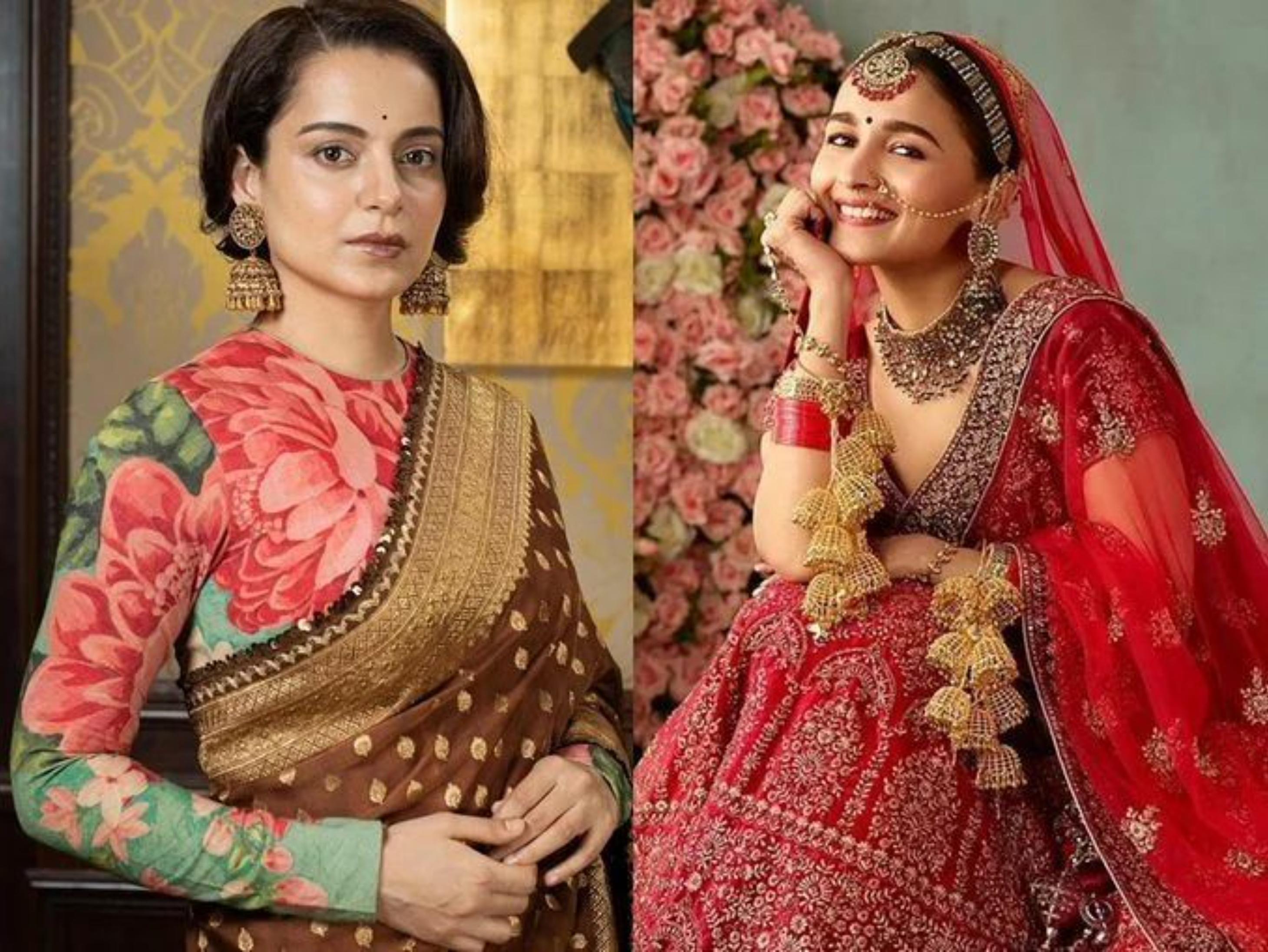 कंगना रनोट ने मोहे की ऐड पर आलिया भट्ट को सुनाई खरी खोटी, मेकर्स से कहा-हिंदुओं का मजाक उड़ाना बंद करो|बॉलीवुड,Bollywood - Dainik Bhaskar