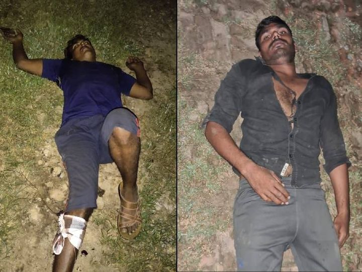 नोएडा में बदमाशों की पुलिस से मुठभेड़; गोली लगने से दो घायल, 9 गिरफ्तार, कंस्ट्रक्शन साइट से चुराते थे सामान|उत्तरप्रदेश,Uttar Pradesh - Dainik Bhaskar