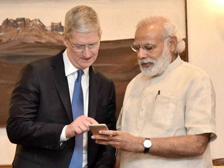अमेरिकी दौर पर एपल के CEO से मिल सकते हैं PM मोदी, कंपनी ने इसी महीने लॉन्च की है आईफोन 13 सीरीज टेक & ऑटो,Tech & Auto - Dainik Bhaskar
