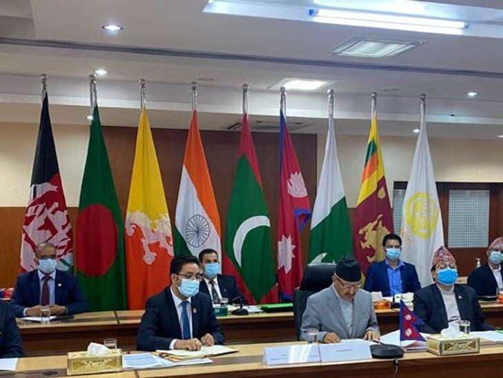 सार्क यानी दक्षिण एशियाई क्षेत्रीय सहयोग संगठन में भारत, पाकिस्तान, बांग्लादेश, श्रीलंका, नेपाल, भूटान, अफगानिस्तान और मालदीव शामिल हैं। - फाइल फोटो - Dainik Bhaskar