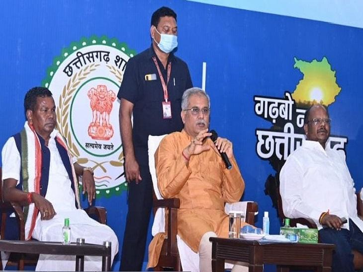 रात को अस्त-व्यस्त रहने के बाद रात में खाने के बाद मुख्यमंत्री भूपेशेल के साथ बस्तर के सदस्य भी शामिल होंगे।