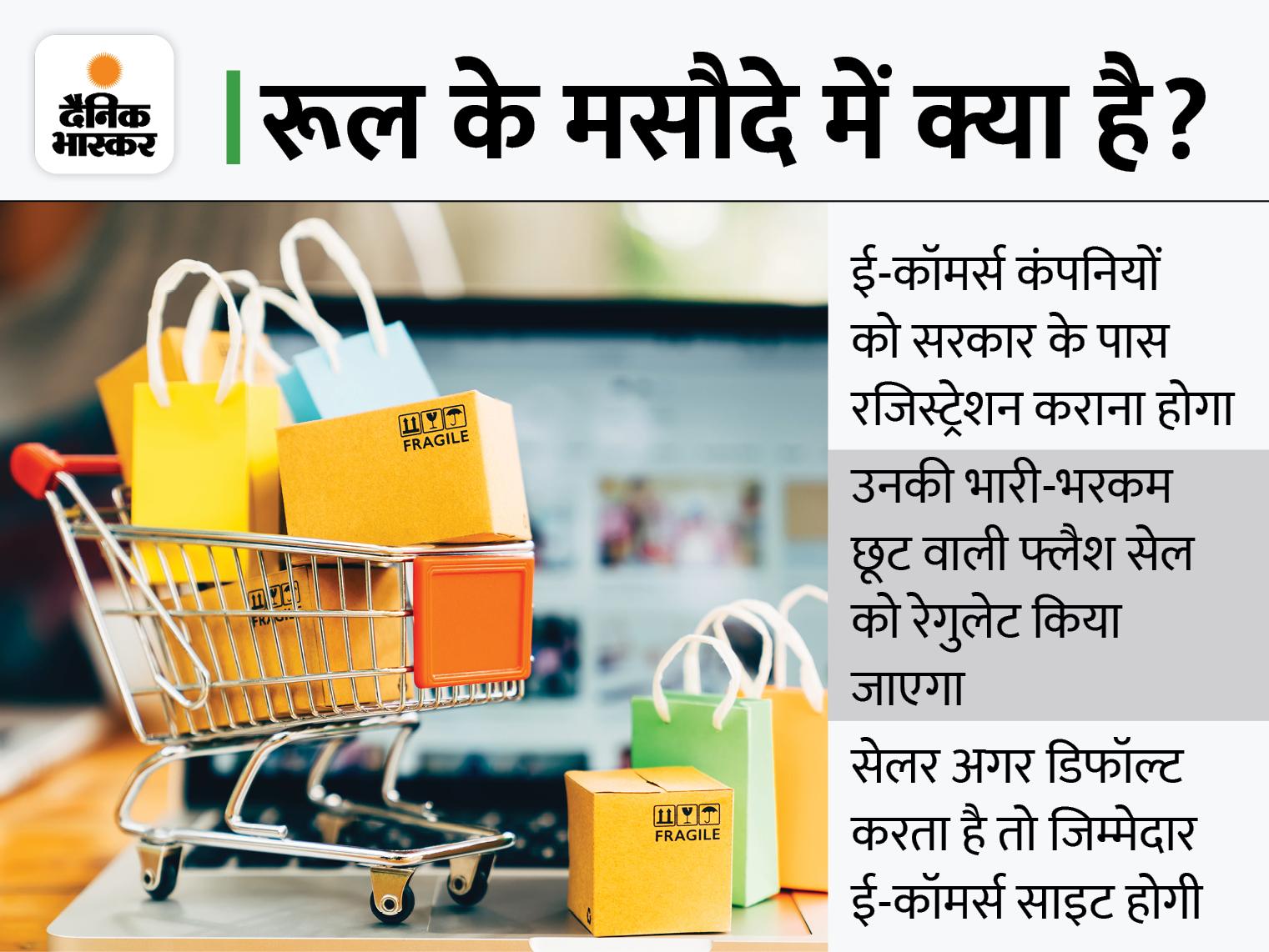 ड्राफ्ट पर नीति आयोग के अलावा अहम मंत्रालयों में एक राय नहीं, उपभोक्ता मामलों के मंत्रालय को करना पड़ सकता है बदलाव इकोनॉमी,Economy - Dainik Bhaskar